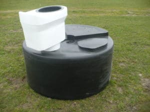 Image of the throne and the Bio Chmaber that we supply with every Enviro composting toilet system.
